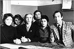 В.В. Шестов со студентами. 1978 год. Открыть в новом окне [64Kb]