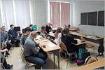 Учебная аудитория кафедры автомобильных дорог и строительных материалов