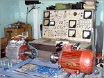 Экспериментальная установка по исследованию и диагностированию неисправностей электрических двигателей. Открыть в новом окне [124Kb]
