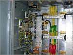 Силовые тиристорные модули МТТ-800 и драйверы управления в шкафу главных приводов. Открыть в новом окне [123Kb]