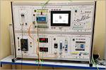 Лабораторный стенд 'Система автоматического управления ОВЕН'.  Исполнение настольное с ноутбуком. САУ-ОВЕН-НН. Открыть в новом окне [141Kb]