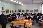 Студенты группы ГСХ на занятиях в компьютерном классе. Открыть в новом окне [80 КБ]