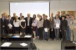 Участники юбилейной студенческой конференции, посвященной 30-летию кафедры СК. Открыть в новом окне [108 КБ]