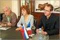 Встреча ректора ОГУ с членами французской делегации