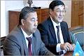 Встреча ректора ОГУ с делегацией из Казахстана